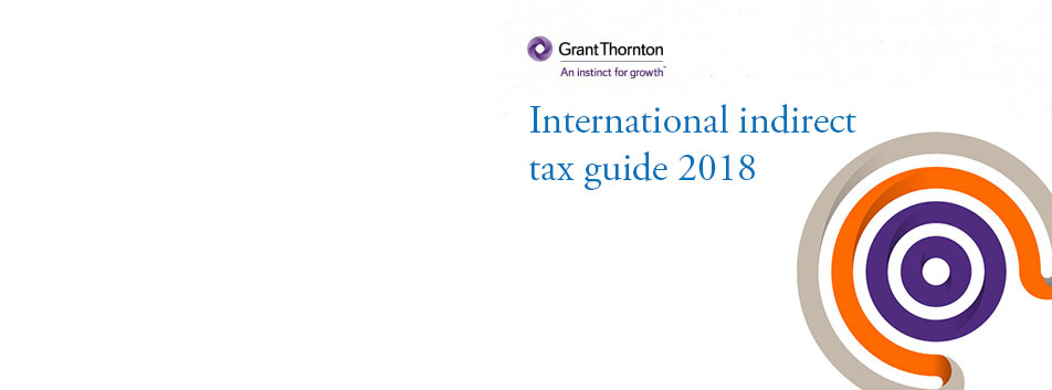 International Indirect tax guide 2018